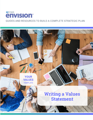 MPOWR Envision – Writing a Values Statement
